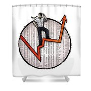 Stock Market Shower Curtain