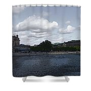 Stockholm Graphic Shower Curtain