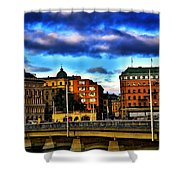 Stockholm In Color Shower Curtain