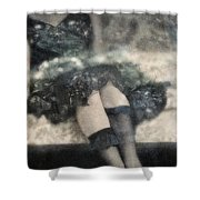 Stockings Shower Curtain