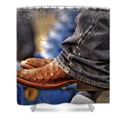 Stockshow Boots IIi Shower Curtain