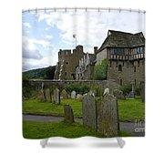 Stokesay Castle 2 Shower Curtain