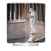 Stone Angel Shower Curtain