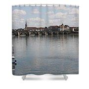 Stone Arch Bridge - Macon Shower Curtain