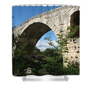 Stone Arch Of Pont St. Julien Shower Curtain