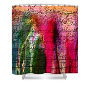Stone Art Abstract Shower Curtain