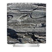 Stone Art Shower Curtain