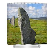 Stone At Callanish IIi Shower Curtain