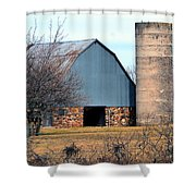 Stone Barn Shower Curtain