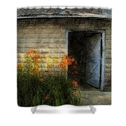 Stone Barn Lux Shower Curtain