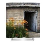 Stone Barn Neo Shower Curtain