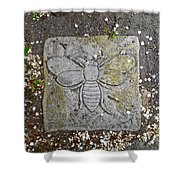 Stone Bee In Jim Thorpe Pa Shower Curtain