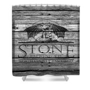Stone Brewing Shower Curtain