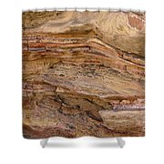 Stone Colors And Textures Shower Curtain