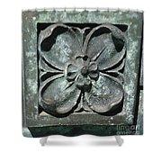 Stone Flower Shower Curtain