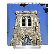 Stone Gothic Church Shower Curtain
