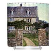 Stone House Shower Curtain