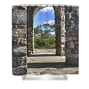 Stone Memorial  Shower Curtain