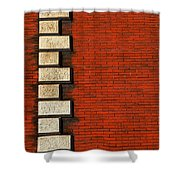 Stone On Brick Shower Curtain