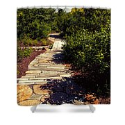 Stone Pathway Shower Curtain