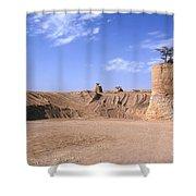 Stone Quarry Shower Curtain