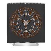Stone Ridge Mandala Shower Curtain