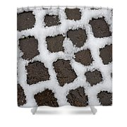 Stone Road Shower Curtain