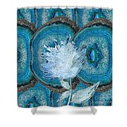 Stone Rose Shower Curtain