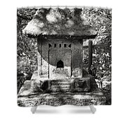 Stone Shrine Shower Curtain