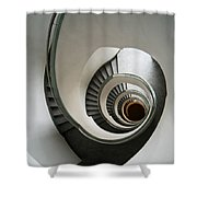 Stone Staircase Shower Curtain