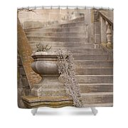 Stone Steps National Cathedral Shower Curtain