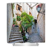 Stone Streets Of Old Trogir Shower Curtain