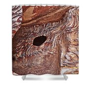 Stone Structures Shower Curtain