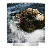 Stone  Shower Curtain