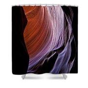 Stone Temple Shower Curtain