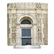 Stone Window Shower Curtain