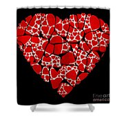 Stoned In Love Shower Curtain