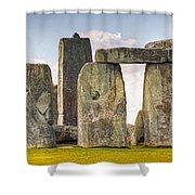 Stonehenge Panorama Shower Curtain