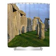 Stonehenge Stones Shower Curtain