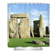 Stonehenge, Wiltshire, England, United Shower Curtain
