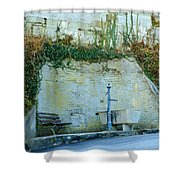 Stones And Water Shower Curtain