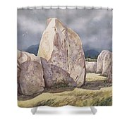 Stones Of Castlerigg Shower Curtain