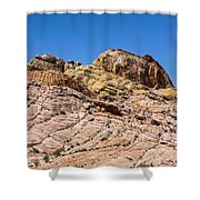 Stones Of Color Shower Curtain