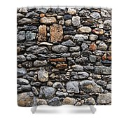 Stones Wall Shower Curtain