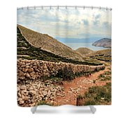 Stonewall Shower Curtain by Davorin Mance