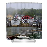 Stonington Harbor 2 Shower Curtain