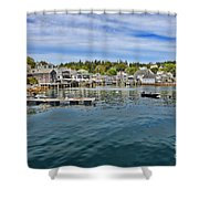 Stonington In Maine Shower Curtain