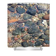 Stony Beauty Shower Curtain