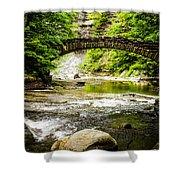Stony Brook State Park Shower Curtain