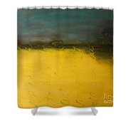 Stop And Breathe Shower Curtain